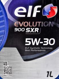 Моторное масло Elf Evolution 900 SXR 5W-30 синтетическое