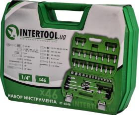 "Набор инструментов Intertool ET-6046 1/4"" 46 ед."