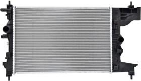 Радиатор охлаждения двигателя Nissens 630727