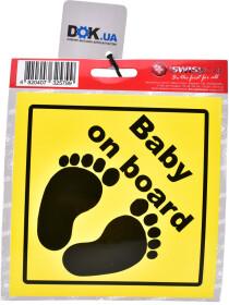 Наклейка ProSwissCar Baby on board