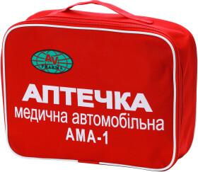 Аптечка автомобильная AV-PHARMA АМА-1 в мягком чехле dokpharma3